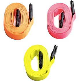 Swimrunners Guidance Pull Belt Cord 3-Pack, neon yellow/neon orange/pink